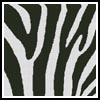 Zebra Cushion - Cross Stitch Chart